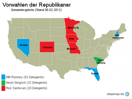USA: Vorwahlen der Republikaner