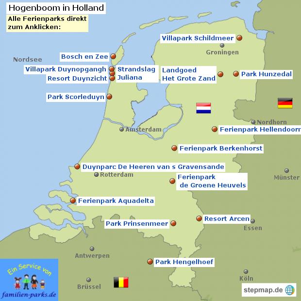 Hogenboom Ferienparks in den Niederlanden