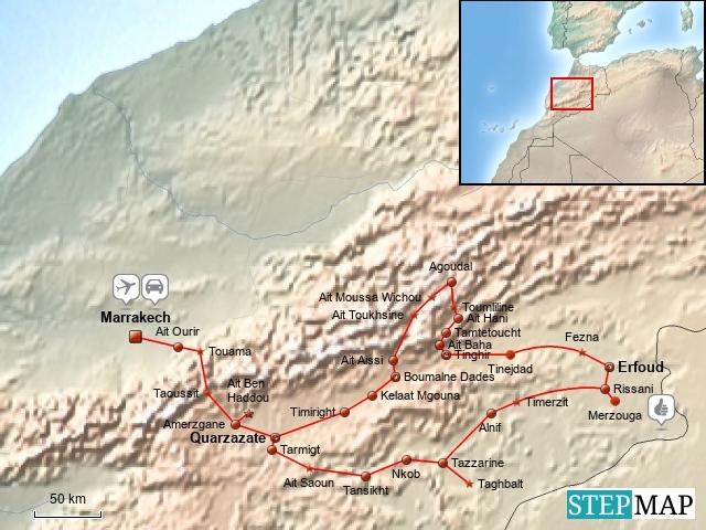 Marokko 2011-The great south-