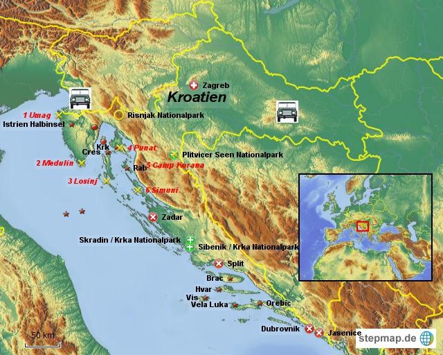 Kroatien Reise 2012