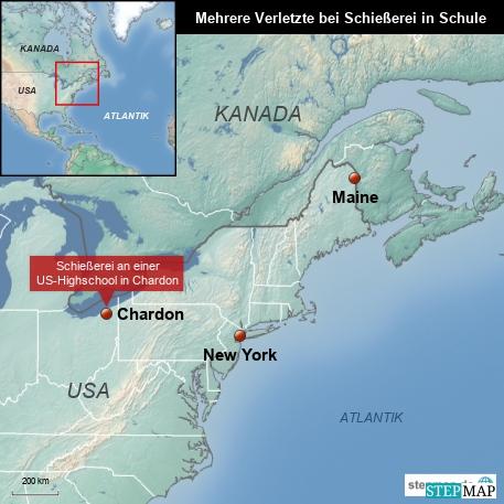 Schießerei in einer US-Schule