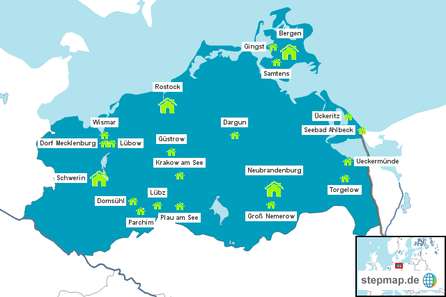 Projektschulen fsj@school - Der Freiwilligendienst an Schulen in Mecklenburg-Vorpommern