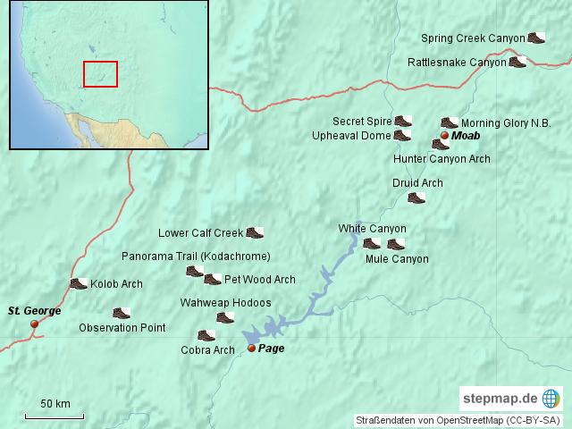 Hikingmap Hike42 2012