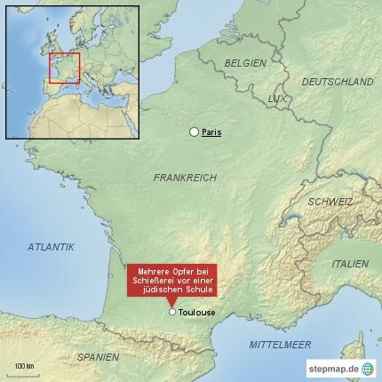 Schießerei vor jüdischer Schule in Toulouse