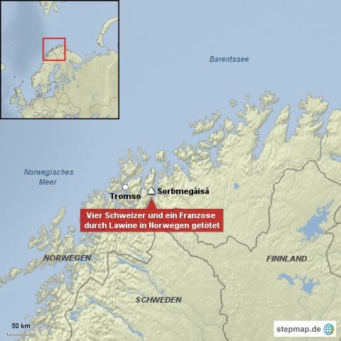 Tote nach Lawine in Norwegen