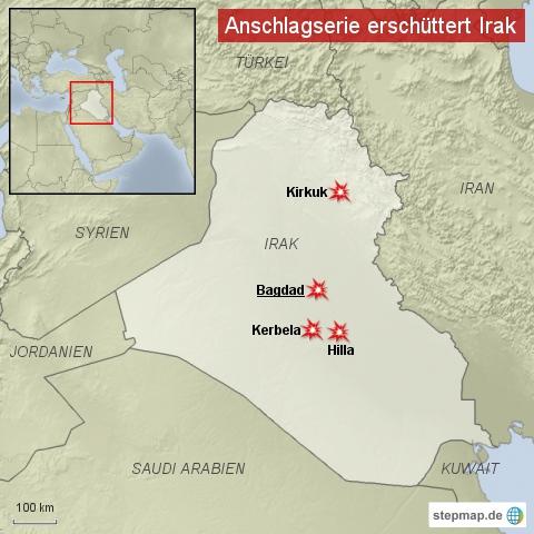 Anschlagsserie im Irak