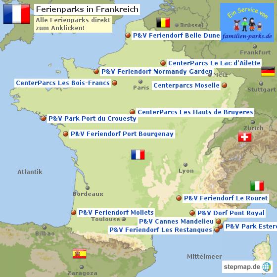 Ferienpark Frankreich Centerparcs