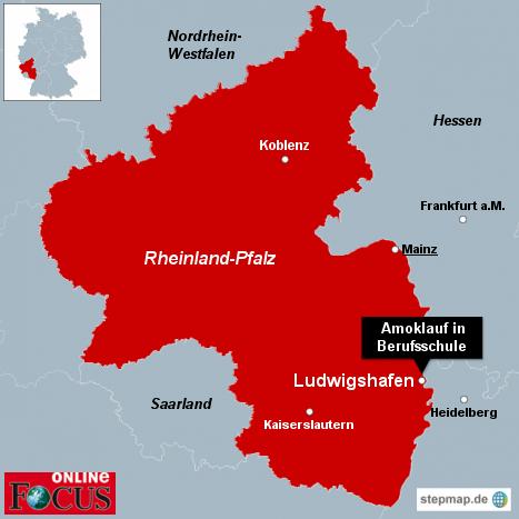 Amoklauf in Berufsschule in Ludwigshafen