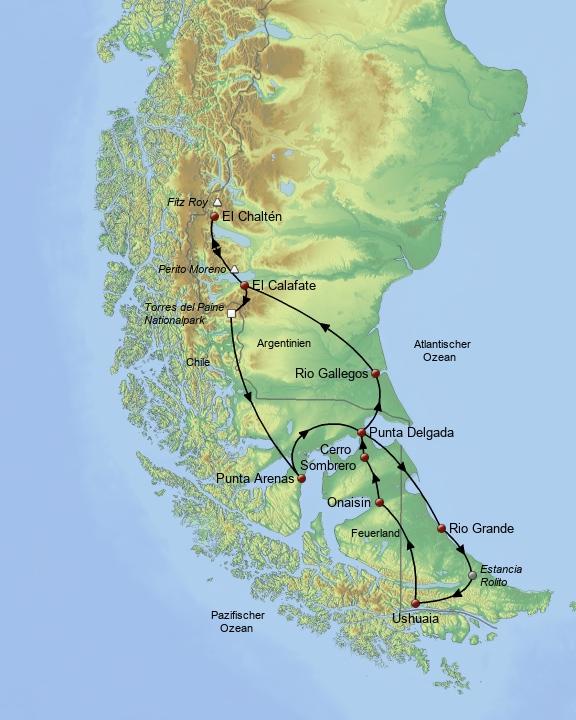 Patagonien & Feuerland1