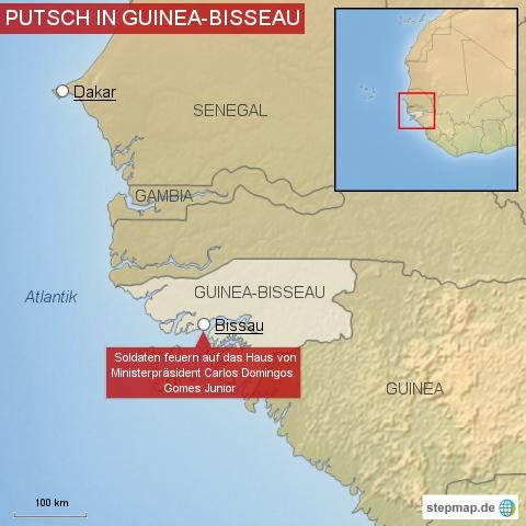 Putsch in Guinea-Bisseau