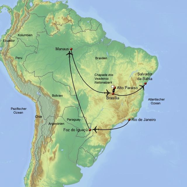 Brasil Tropical Deluxe