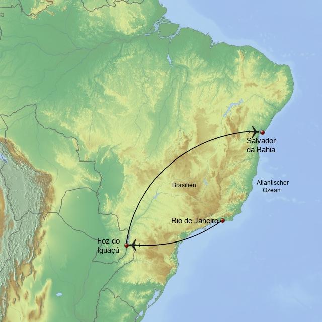 Brasiliens Höhepunkte