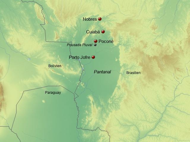 Nördliches Pantanal UeSo