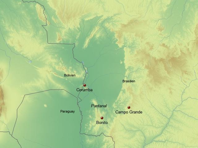 Südliches Pantanal & Bonito