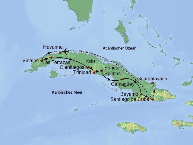 Höhepunkte Cubas