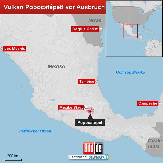 popocatépetl: mexikos monster-vulkan steht vor dem ausbruch - news