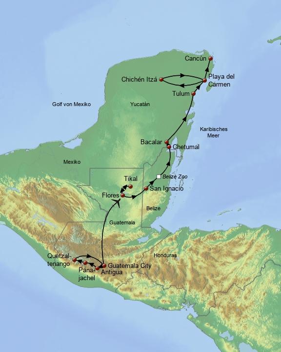 Die Schätze der Maya