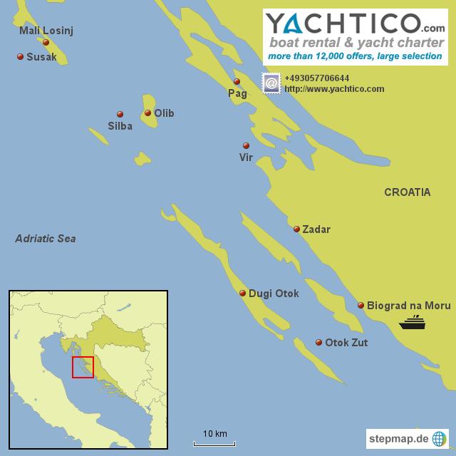 Yachtcharter Kroatien Yachturlaub in Kroatien
