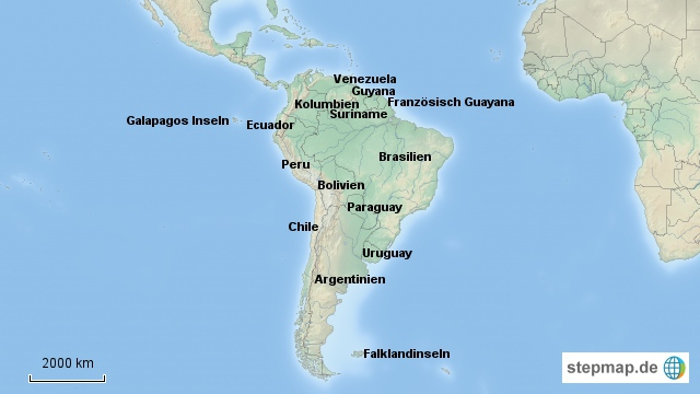 Kontinent_Suedamerika
