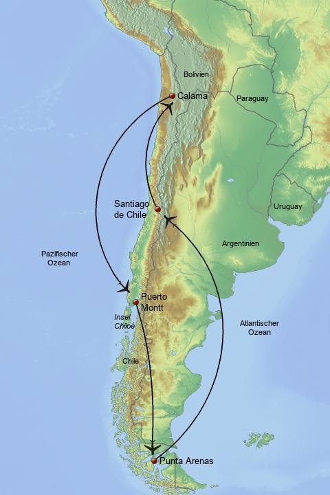 Chile individuell entdecken