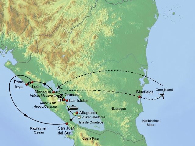 Faszinierendes Nicaragua & Corn Island