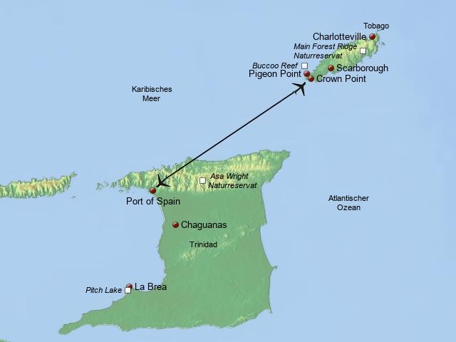 Naturparadies Trinidad Tobago