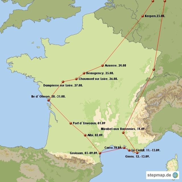 Frankreich 2009