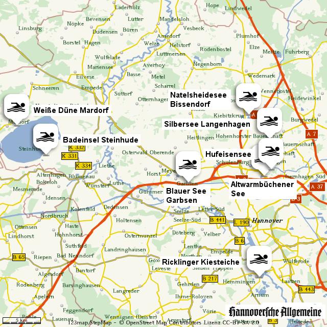 Badeseen Region Hannover