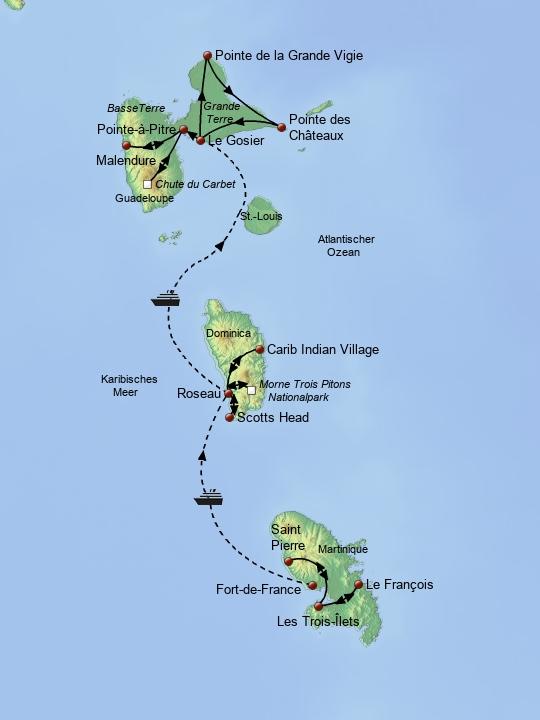 Island Hopping Fr. Antillen