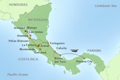 Mundo Verde - Länderkombination Costa Rica, Panama & Nicaragua