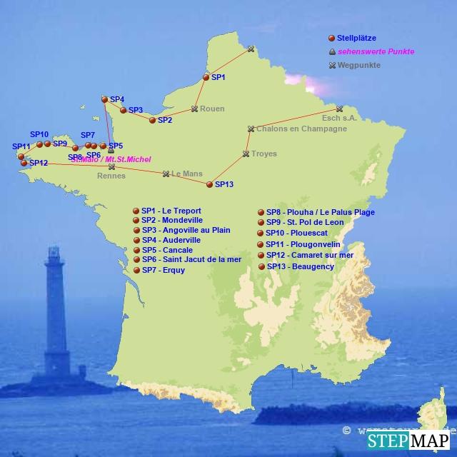 Normandie/Bretagne 2005