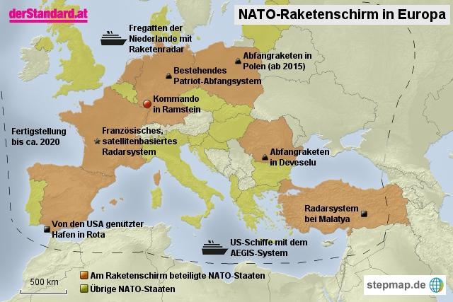 NATO-Raketenschirm in Europa