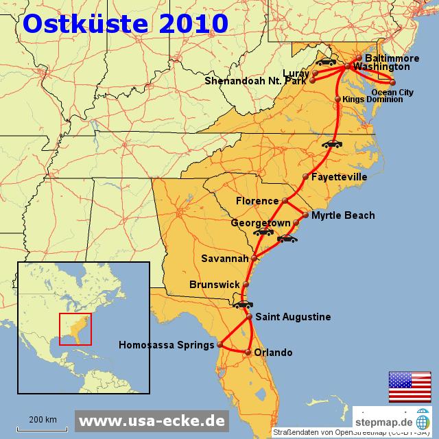 Usa Ecke Ostk 252 Ste 2011