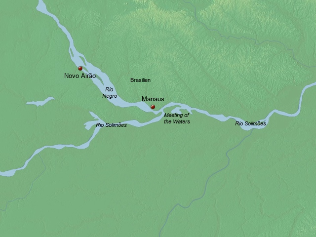 Amazonas-Schiff