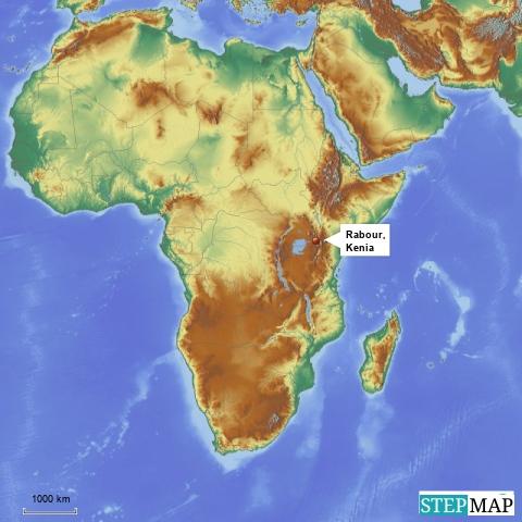 Celina in Kenia