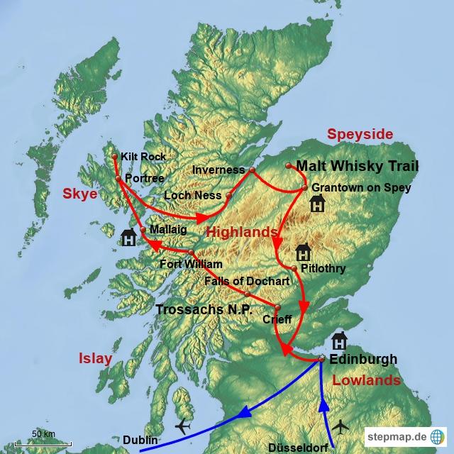 The Whisky Tour