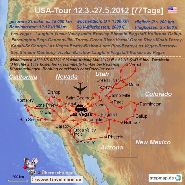 USA-Tour 2012