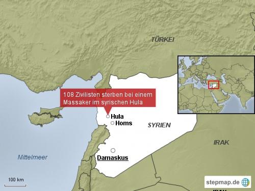 Massaker in Hula, Syrien