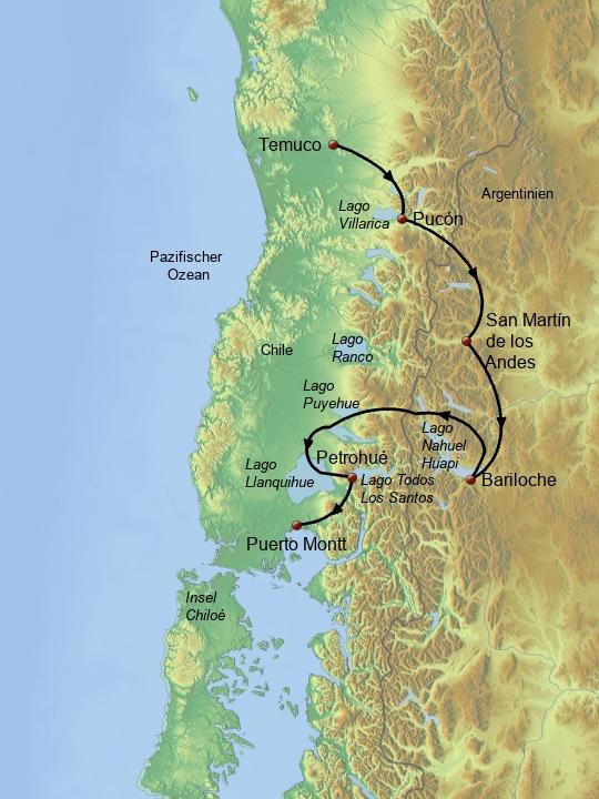 Chilenische & Argentinische Schweiz 1