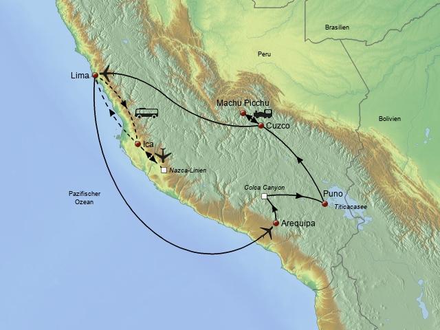 Perus Höhepunkte