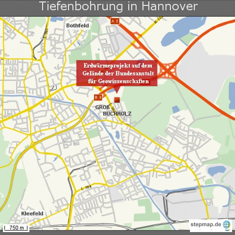 Tiefenbohrung in Hannover