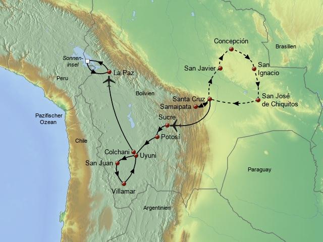 Große Bolivien Rundreise