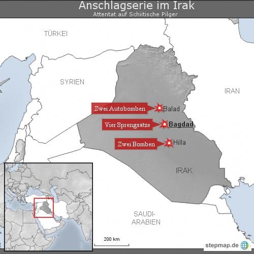 Anschlagserie im Irak
