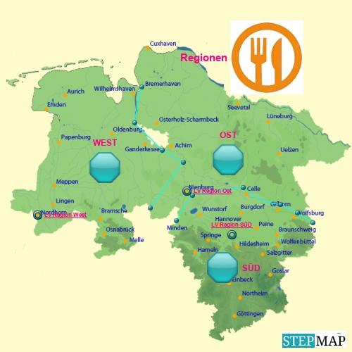 Tafeln in Niedersachsen und Bremen