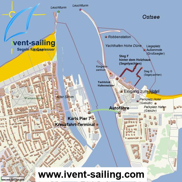 ivent-sailing Tagestörns in Warnemünde