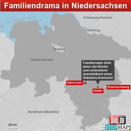 Familiendrama in Niedersachsen