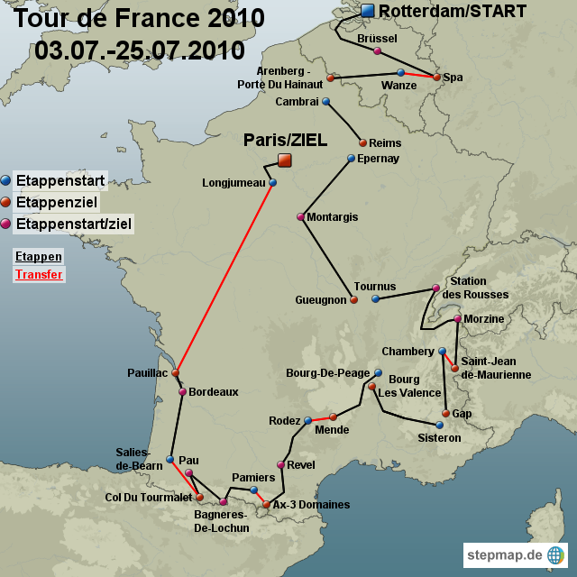 Focus: Tour de France 2010