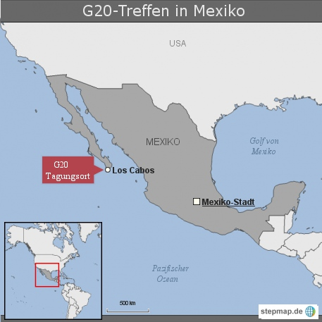 G20-Treffen in Mexiko