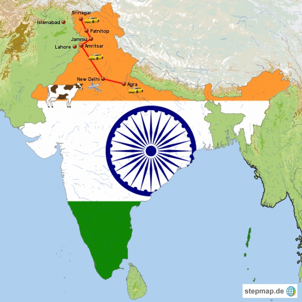 Kashmir, eine Reise in den Norden Indiens