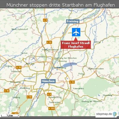 Münchner stoppen dritte Startbahn am Flughafen